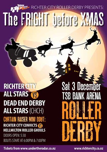 The Fright before Xmas - RCRD Double Header