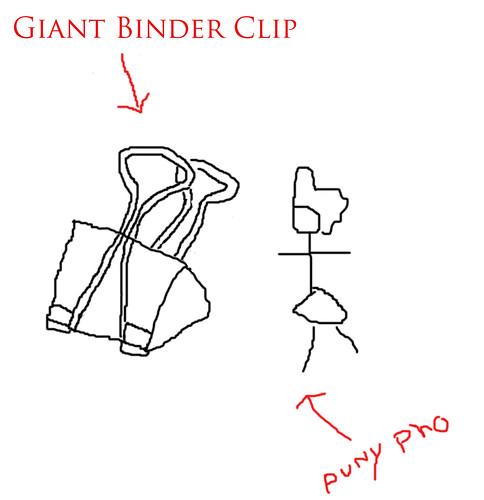 Giant-binder-clip