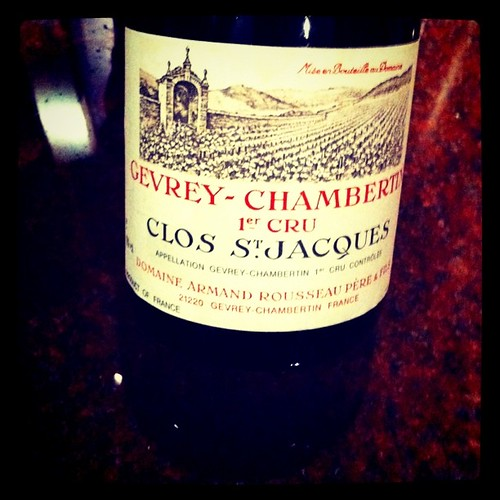 Armand Rousseau Gevrey-Chambertin Clos St. Jacques 1997