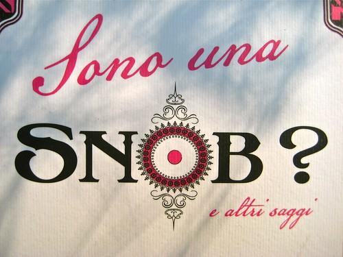 Virginia Woolf, Sono una snob?. Piano B edizioni 2011. [resp. grafiche non indicate]. Copertina (part.), 8
