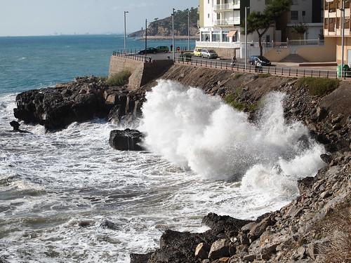 El batir de las olas