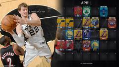 2011-2012 Spurs Schedule (4-April)