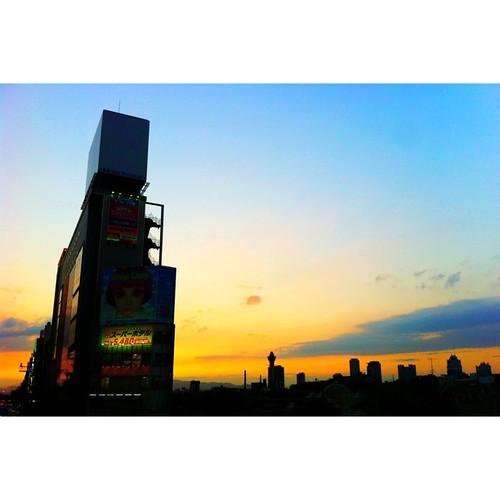 今日も一日、お疲れ様でした。#sunset #iPhonography
