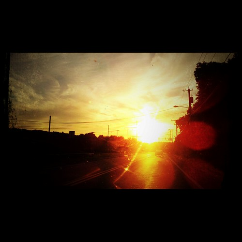 20110704 Independent Sunset by opusinfinity