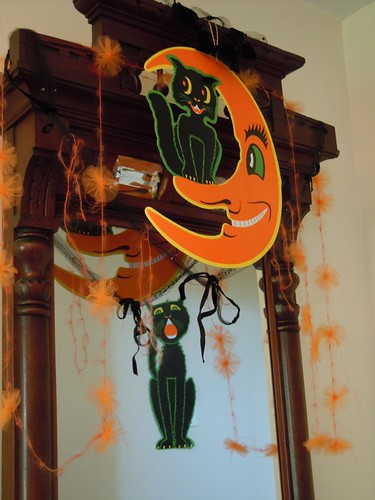 Halloween decor inside