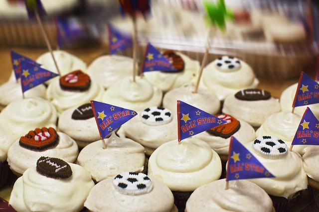 Kaleb's Bday Cupcakes