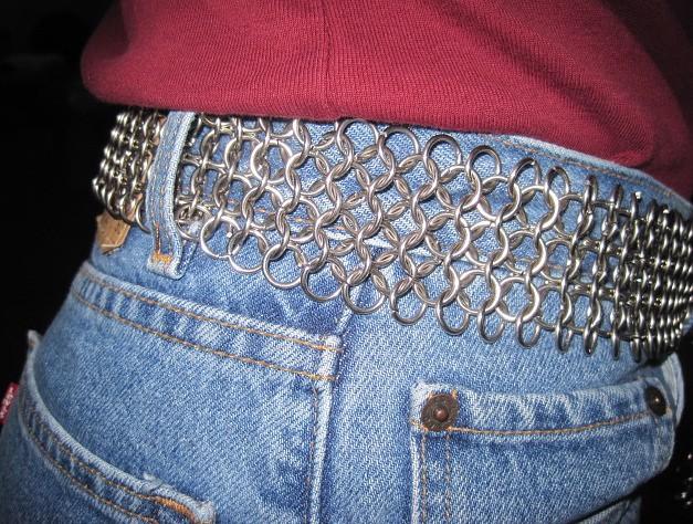 as a belt