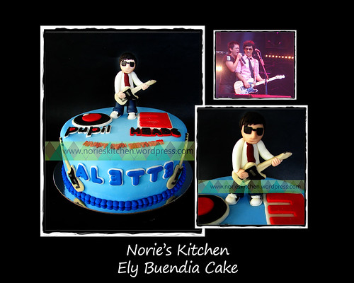 Norie's Kitchen - Ely Buendia Cake by Norie's Kitchen