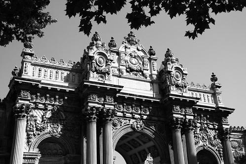 Dolmabahce Palace enterance