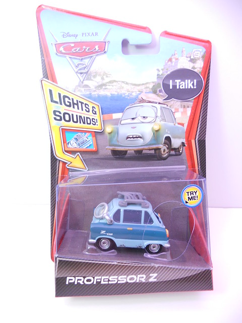 disney cars 2 lights and sounds professor z