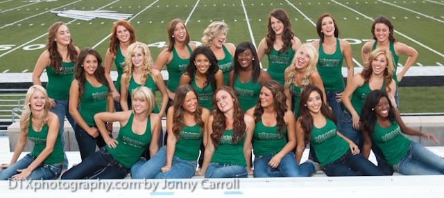 UNT dance team photos