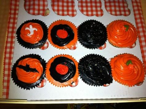 Birthday/Halloween Cupcakes