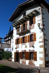 Arquitectura tradicional popular en Narbarte, Navarra