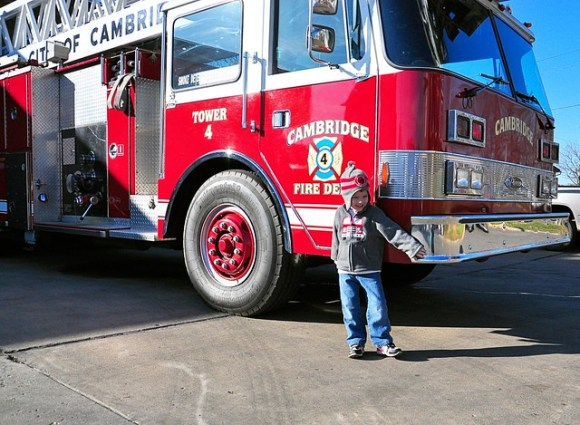 Fire Trucks on Election Day