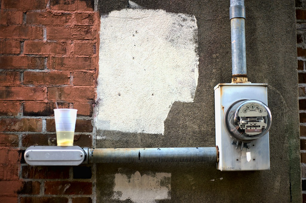 Meter in the Alley No. 2