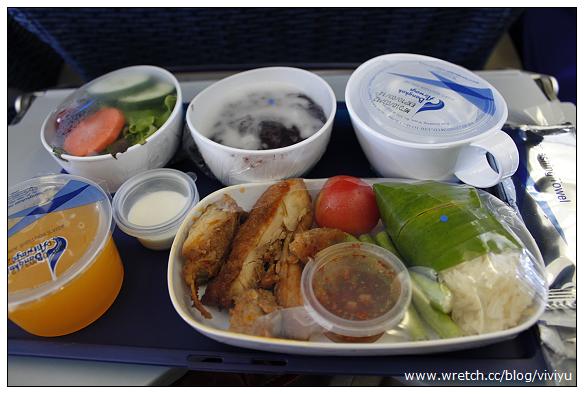 [蘇梅島]泰航飛機餐~四回合餐點無重覆 @VIVIYU小世界