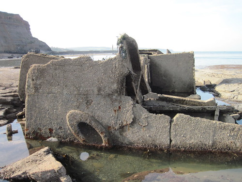 Wreck of the Creteblock - Whitby