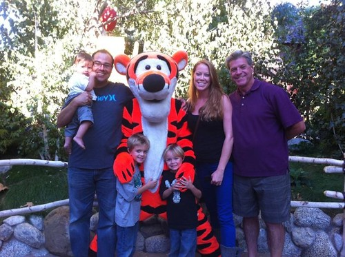 tigger with fam