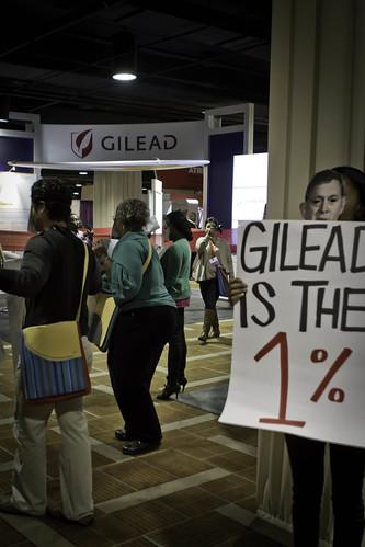 Occupy Gilead Protest