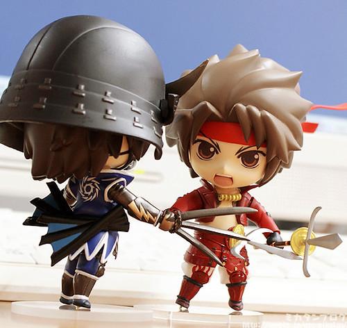 Nendoroid Sanada Yukimura (vs. Nendoroid Date Masamune)
