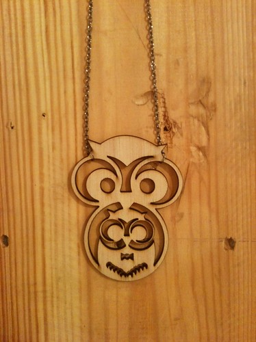 Necklace Owl 3