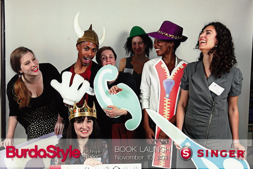 BurdaStyle Book Launch Party Photo Booth