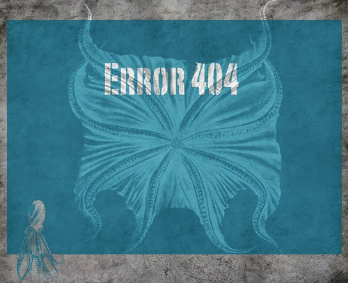 Error 404 - Need to avoid tactical errors