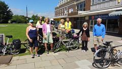 Start of Clarion ride at Polegate, East Sussex.