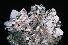 Magnesium Crystal Cluster Close-up