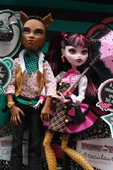 Monster High Clawd and Draculaura