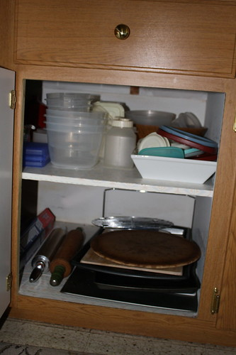 organized cabinets 1