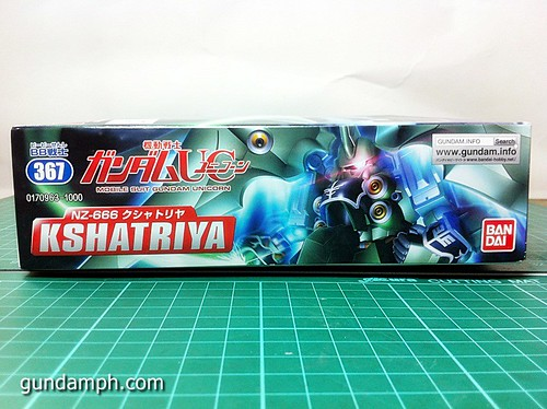 SD Kshatriya Review NZ-666 Unicorn Gundam (4)