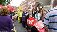 A Pro Life Rally For Life In Dublin