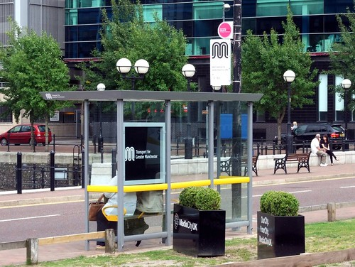TfGM bus shelter