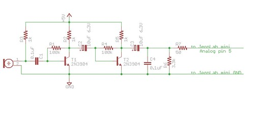 Sound detector circuit