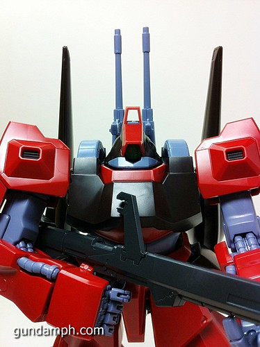 MG Rick Dias Quattro Custom RED Review OOB Build (58)