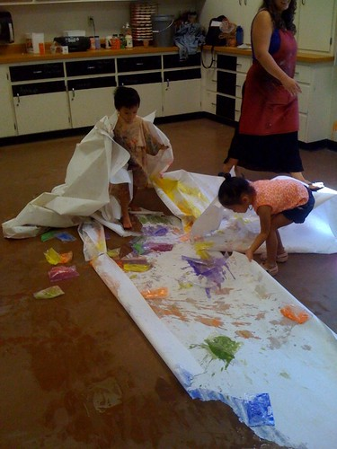 285/365 messy art