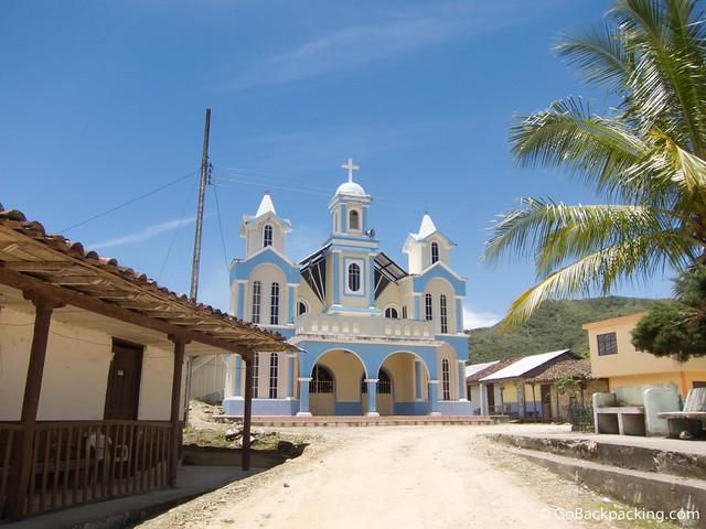 Church in Southern Ecuador