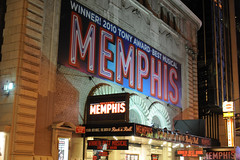 Memphis the Musical @ Shubert Theatre on Broadway