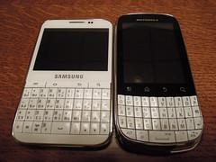 Galaxy Pro B7510 & Moto XT316
