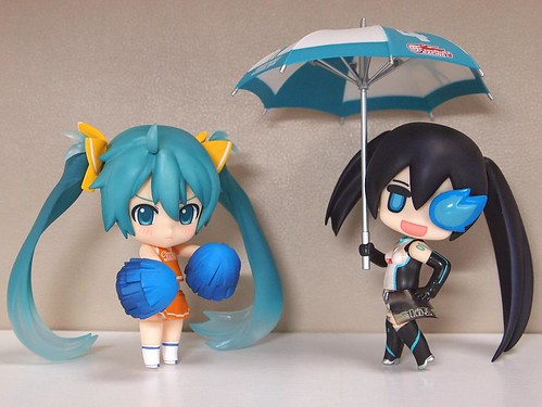 Racing Miku 2011 x Puchitto Rock Shooter