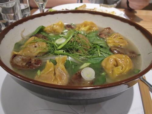 wagamama pork dumpling soup
