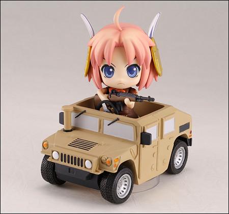 Pixel Maritan on Humvee