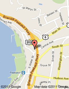 Inn on the Hudson - map