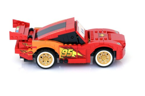 8484 Ultimate Build Lightning Mcqueen - 8
