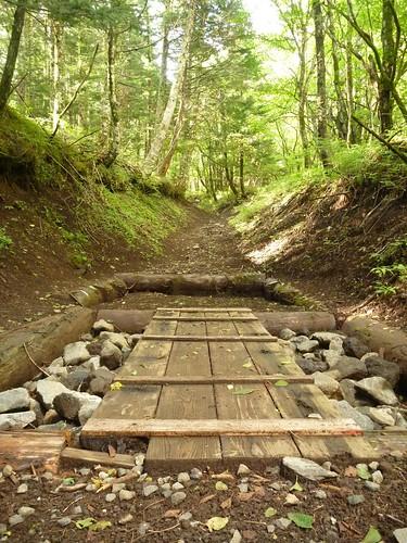 一合目から富士山に登る Climbing Mt.fuji, from the starting point of Yoshidaguchi Climb Trail