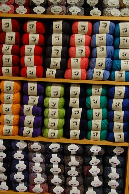 Wall of Yarn