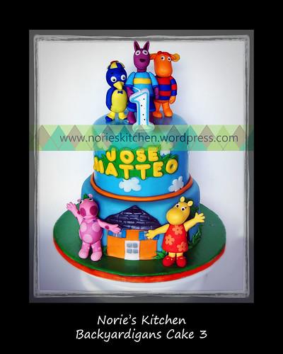 Norie's Kitchen - Backyardigans Cake 3 by Norie's Kitchen
