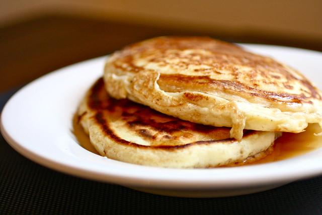 sunday morning pancakes!