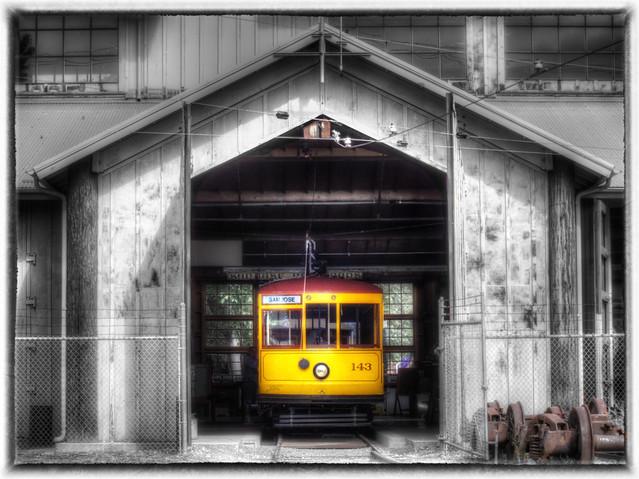 Trolley No. 143 by Scott Loftesness